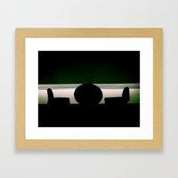 Let's Talk Framed Art Print