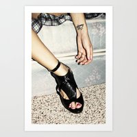 crazy/beautiful Art Print