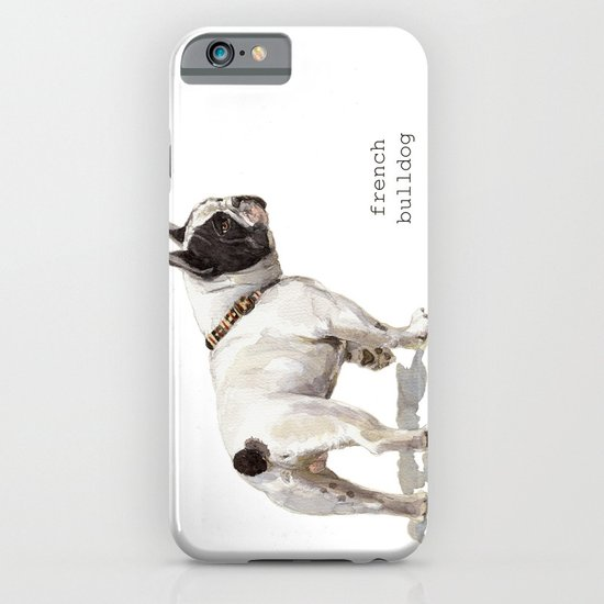 French Bulldog A050 iPhone & iPod Case