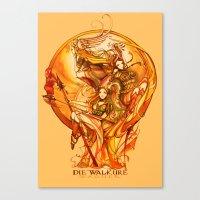DIE WALKURE - WAGNER - OPERA Canvas Print