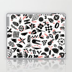 Black and white pattern Laptop & iPad Skin
