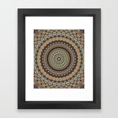 Mandala 588 Framed Art Print