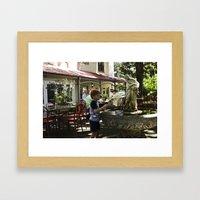 Childhood Blues II Framed Art Print