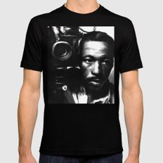 GORDON PARKS: Legend Black Mens Fitted Tee SMALL