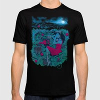 Escape Mens Fitted Tee Black SMALL