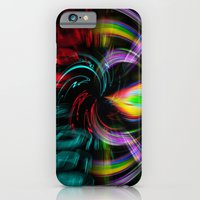 iPhone Cases featuring Abstract Perfection 33 by Walter Zettl