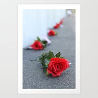 Flight 93 Memorial/Trail of Roses Art Print