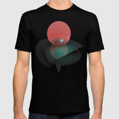Gravity Layers SMALL Mens Fitted Tee Black