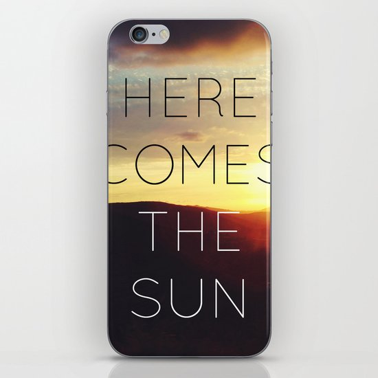 Here It Comes iPhone & iPod Skin