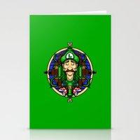 Luigi's Lament Stationery Cards