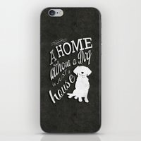 Home with Dog iPhone & iPod Skin