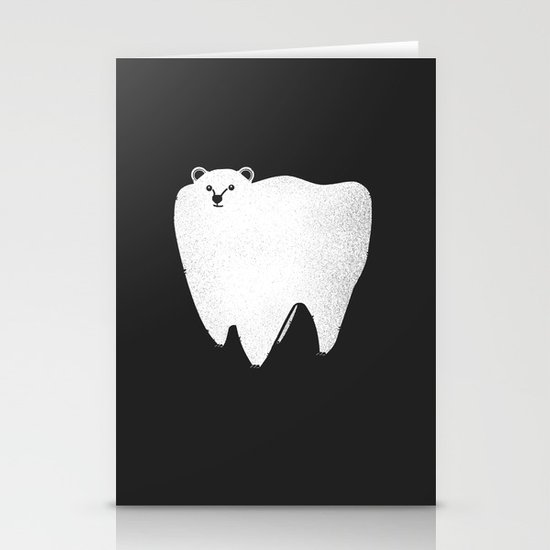 Molar Bear Stationery Card