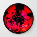 Hell's Chandelier Store Wall Clock