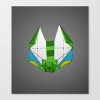 Canvas Print featuring Space cat Joe by Ninna