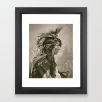 Cree Indian Framed Art Print