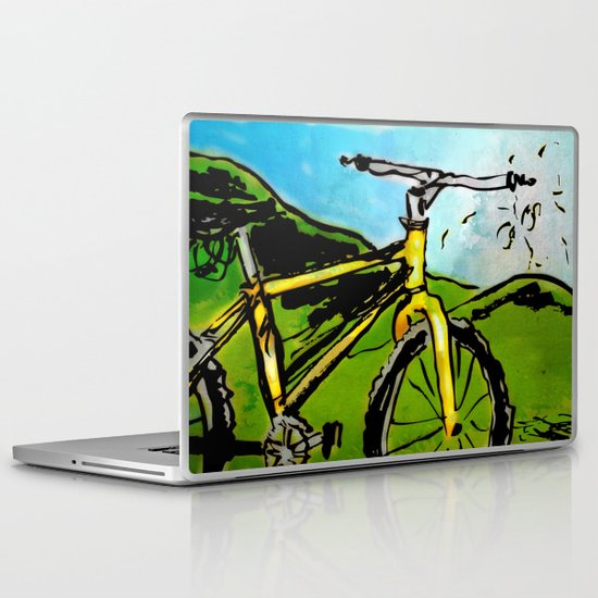 the bike Laptop & iPad Skin