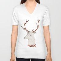 Dear Deer. Unisex V-Neck
