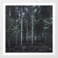darkwood Art Print