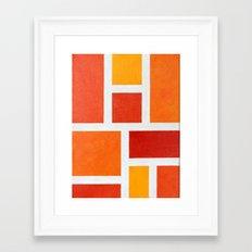 60's Mod Framed Art Print