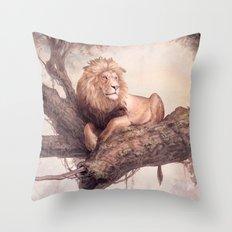 Up a Tree Throw Pillow