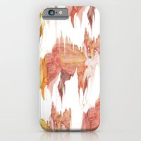 iPhone & iPod Case featuring Remix Red Fox by Ben Geiger