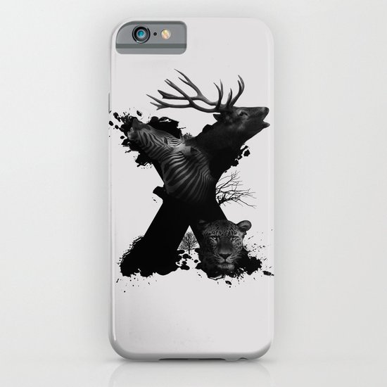 X ANIMALS iPhone & iPod Case
