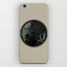 Miniature Circle Landscape 1: Morning Vision iPhone & iPod Skin