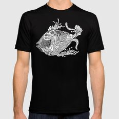 Dragon Fish SMALL Mens Fitted Tee Black