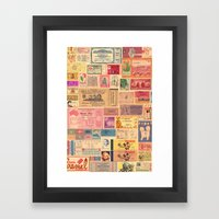 Places, Elsewhere Framed Art Print