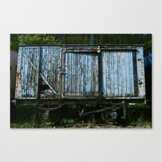 Box Car Canvas Print
