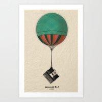 Gymnopedie No.1 - Erik S… Art Print