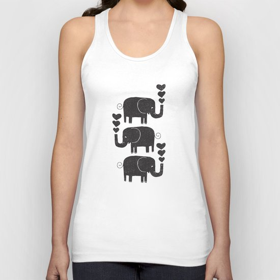 ELEPHANTS Unisex Tank Top