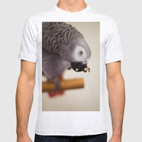 My Nose Is Itchy Mens Fitted Tee Ash Grey SMALL