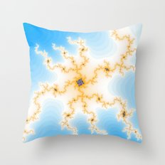 Black Hole the Dot of Energy Throw Pillow