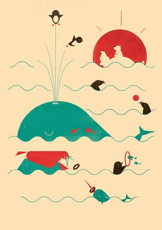 Arctic Playground Canvas Print