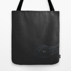 All lines lead to the...Stingray Tote Bag