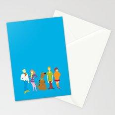 Scooby Do Gang Stationery Cards