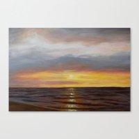 El Mar Amado ~ Beloved S… Canvas Print