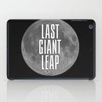 Last Giant Leap iPad Case
