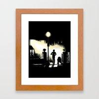 The droids (clean) Framed Art Print