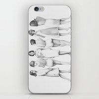White Girls iPhone & iPod Skin