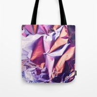 Pink Texture  Tote Bag