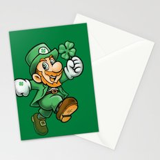 Lucky Mario Stationery Cards
