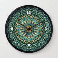 Jewel Of The Nile Wall Clock