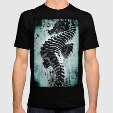 Sea Horse SMALL Mens Fitted Tee Black
