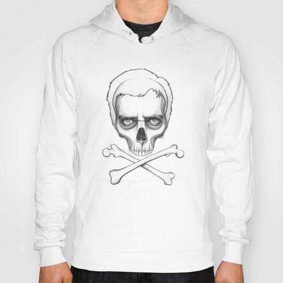 Everybody Dies - House MD Skull Crossbones Hoody