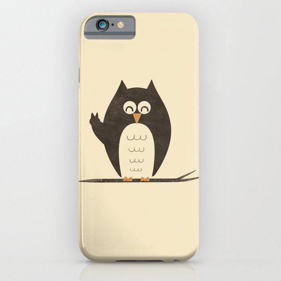 Peace Owlt iPhone & iPod Case