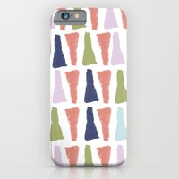 iPhone & iPod Case featuring PAINT TRIANGLES by natalie sales