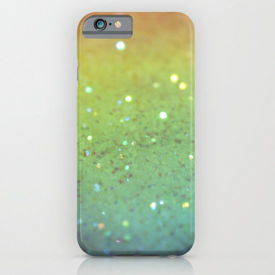 RAINBOW GLITTER iPhone & iPod Case
