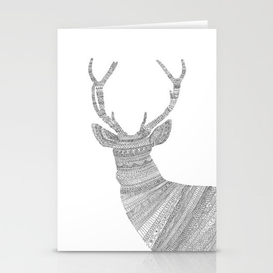 Stag / Deer Stationery Card